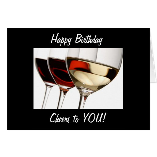 Happy Birthday And CHEERS TO YOU !