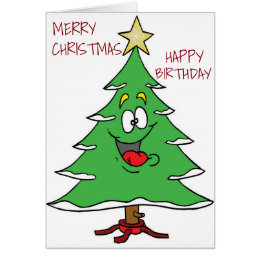 Birthday merry christmas cards photocards invitations more happy birthday and merry christmas special u card bookmarktalkfo Images
