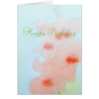 Happy Birthday  August  Card