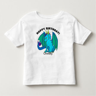 Happy Birthday baby Dragon YOUR NAME & AGE T-Shirt