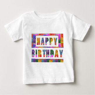 HAPPY BIRTHDAY : Baby Fine Jersey T-Shirt