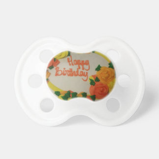 Happy Birthday Baby Pacifiers
