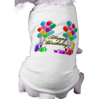 Happy Birthday Balloons and Presents Shirt