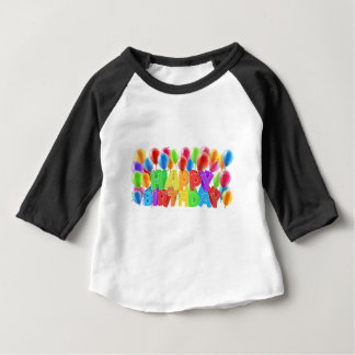 Happy Birthday Balloons Baby T-Shirt