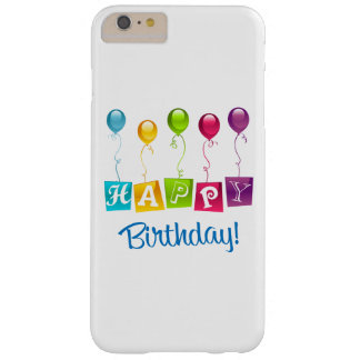 Happy Birthday Barely There iPhone 6 Plus Case