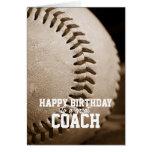 Happy Birthday Baseball Coach