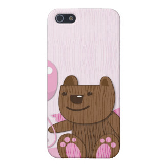 Happy Birthday Bear plain iPhone 5 Covers