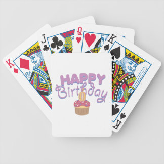Happy Birthday Bicycle Poker Deck