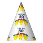 Happy Birthday Big 80 Party Hat