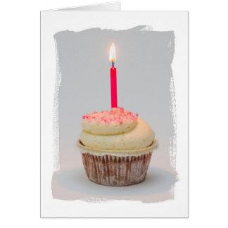 Happy Birthday, Birthday Girl Cupcake card