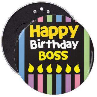 Happy Birthday BOSS Pins