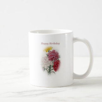 Happy Birthday Bouquet Coffee Mug