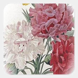 Happy Birthday Bouquet Square Sticker