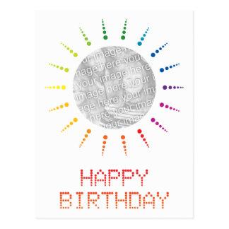 happy birthday (brightBurst) Postcard