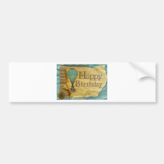 Happy-Birthday Bumper Sticker