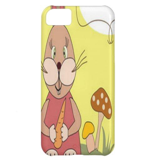 Happy birthday bunny design case for iPhone 5C