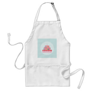 Happy Birthday Cake Standard Apron