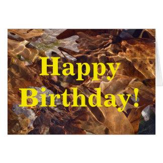Happy Birthday Camo Outdoors Card
