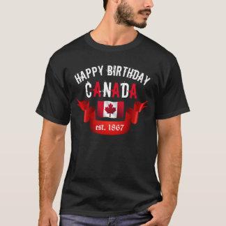 Happy Birthday Canada 150 Birthday - T-Shirt