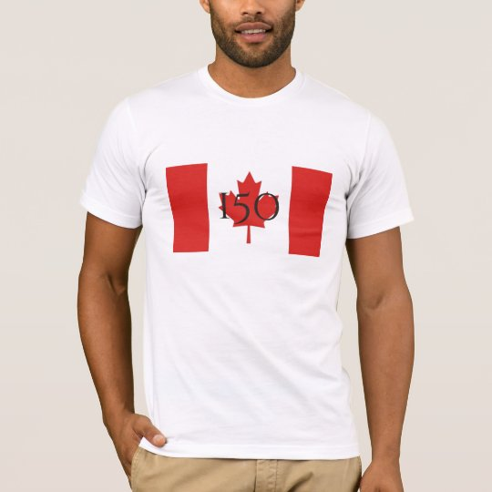 Happy Birthday Canada-150 T-Shirt