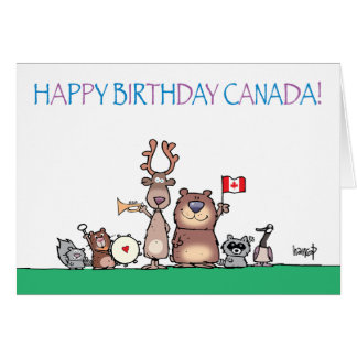 Happy Birthday Canada! by harrop - 150-11 Card