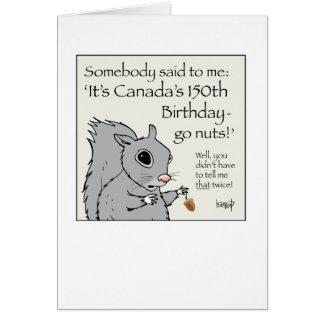 Happy Birthday Canada! by harrop - 150-16 Card