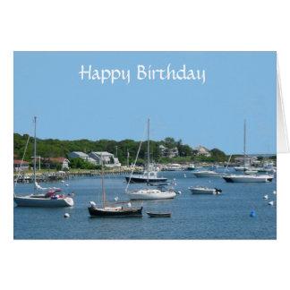 Happy Birthday Cape Cod Lighthouse Postcard