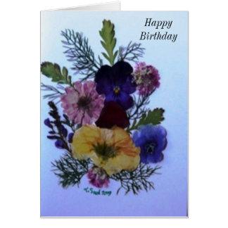 Happy Birthday Card. Card
