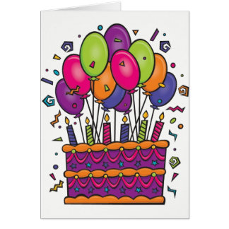 Happy Birthday Card Colours