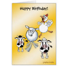 Happy Birthday card from group