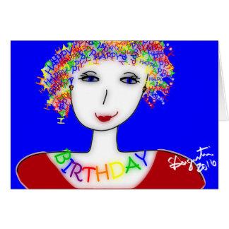Happy Birthday Card - Sharon Augustin