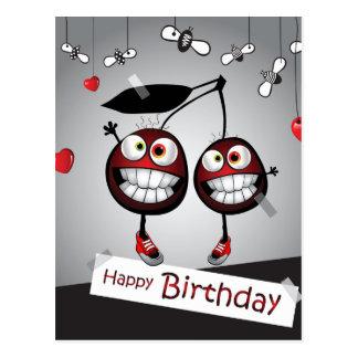 Happy Birthday Carte Postale