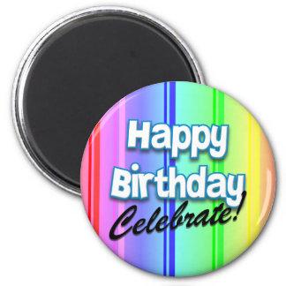 Happy Birthday Celebrate Magnet