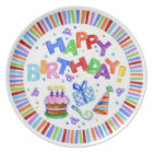 Happy Birthday Celebration Plate