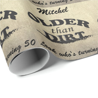 Happy Birthday (Change the Age/Name) Wrapping Paper