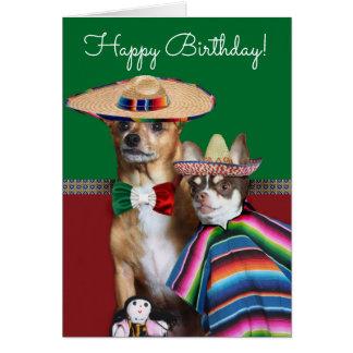 Happy Birthday Chihuahuas Card