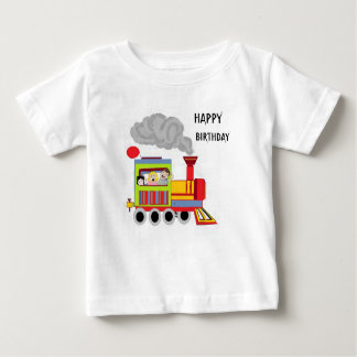 Happy Birthday Choo-Choo Baby T-Shirt