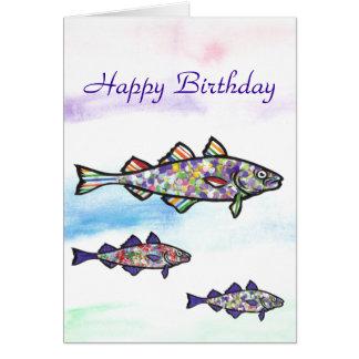Happy Birthday Cod Card