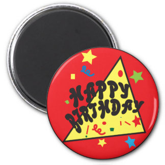 Happy Birthday Confetti Fun | Red Magnet