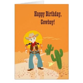 Happy Birthday, Cowboy! Greeting Cards