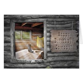Happy Birthday, Cowboy! Greeting Card