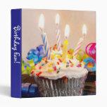 """Happy Birthday Cupcake 1"""" Photo Album"""