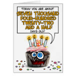 Happy Birthday Cupcake - 20 years old Greeting Card