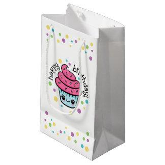 Happy Birthday Cupcake gift bag