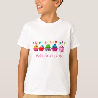 Happy Birthday Cupcakes - Kid's T-shirt