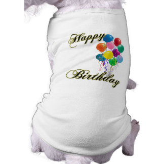 Happy Birthday - Customize Shirt