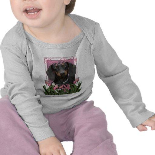 Happy Birthday - Dachshund - Winston Tee Shirt
