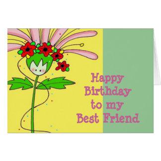 Happy Birthday Daisy Greeting Card