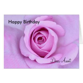 Happy Birthday Dear Aunt Card