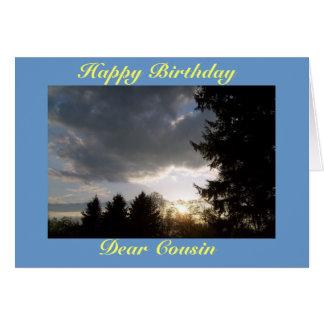 Happy Birthday, Dear Cousin Card